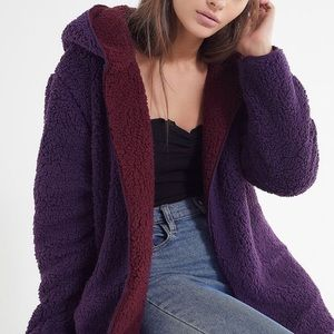 Urban Outfitters reversible hooded jacket